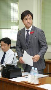▲総務常任委員会にて