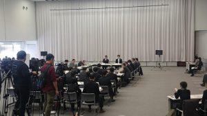 ▲副首都推進本部の初会合の様子