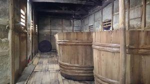 ▲上堂さんの醤油蔵