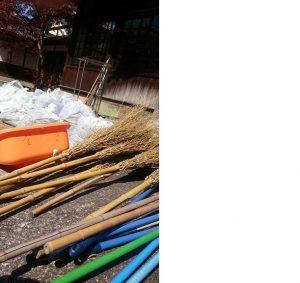 ▲平成元年から始まった「お掃除の会」