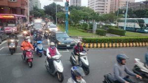 ▲台北市内の街並み