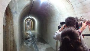 ▲リムトンネル内