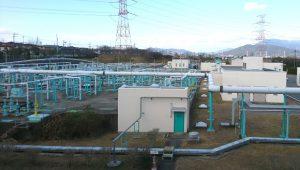 ▲宝満川浄化センター