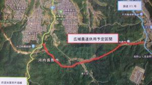 ▲赤線が今年7月末に一部開通する区間