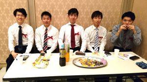 ▲関西大学舞踏同好会の後輩たちも大活躍!