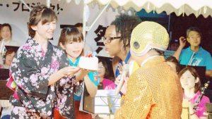 ▲キアラさんへの誕生日サプライズ!