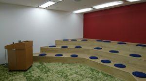 ▲施設内のミーティングルーム