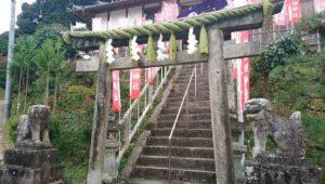 ▲加賀田神社