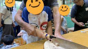 ▲木工教室の様子