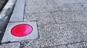 ▲赤色表示フィルム