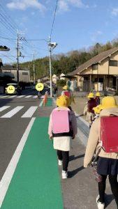 ▲通学時間の様子