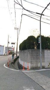 ▲(株)吉年沿いの交差点