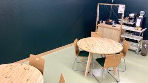 ▲「オリーブ」さんが運営するカフェ